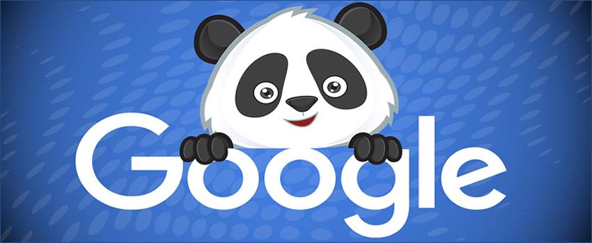 chegada do Panda
