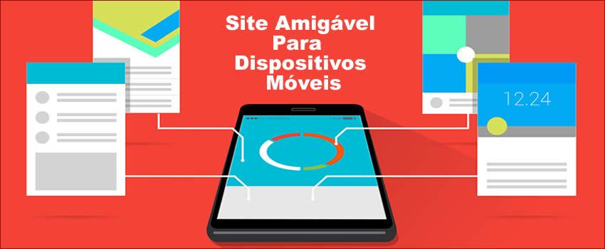 Site responsivo Para celular