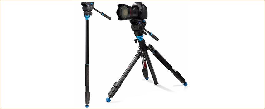 Tripés e Monopés para câmera