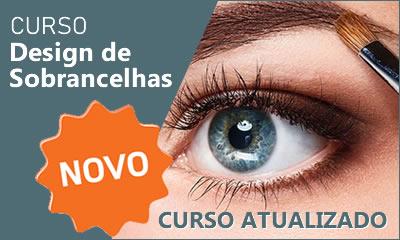 Curso gratis de design de sobrancelhas
