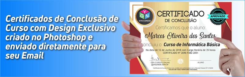 Certificado de Curso Online