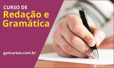 Curso de Redação e Gramática, Online, Grátis